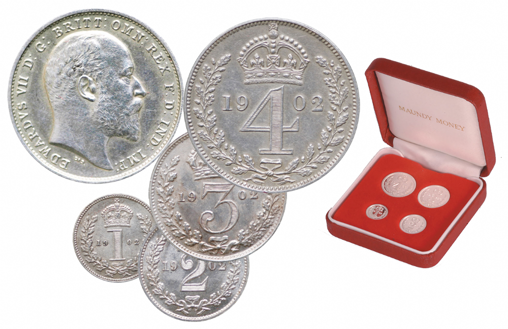 Edward VII Maundy Set 1902-10